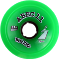 ABEC11 CLASSIC BIGZIGS 75mm 78a GREEN