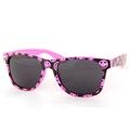 Smiley Hot Pink Sunglasses