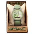 Sprout Watches Owl Cotton Strap - Lime