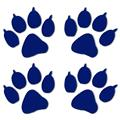 Inbloom Big Paw Prints Sticker
