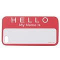 Flash iPhone Cover - Name Tag