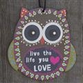 Natural Life Air Freshener - Owl