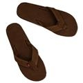 Rainbow Men's Double Layer Leather Sandals - Expresso