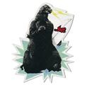 Lost Zilla Sticker