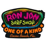 Ron Jon Paint Splatter Sticker